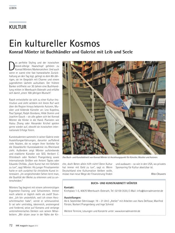 IHK Magazin August 2013
